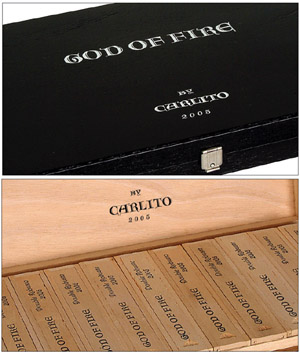 God of Fire Double Robusto 2005 By Carlito