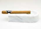 Single Cigar White Marble
