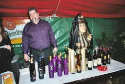 A healthy selection of wines is essential for an Up Down bash.