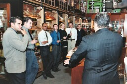 Nick and Ernesto reveal the secrets behind their superb blends to the Up Down Staff.